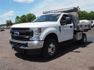 2020 Ford F-350 Regular Cab DRW 4x4, Rugby Eliminator LP Stainless Steel Dump Body #10685T - photo 7