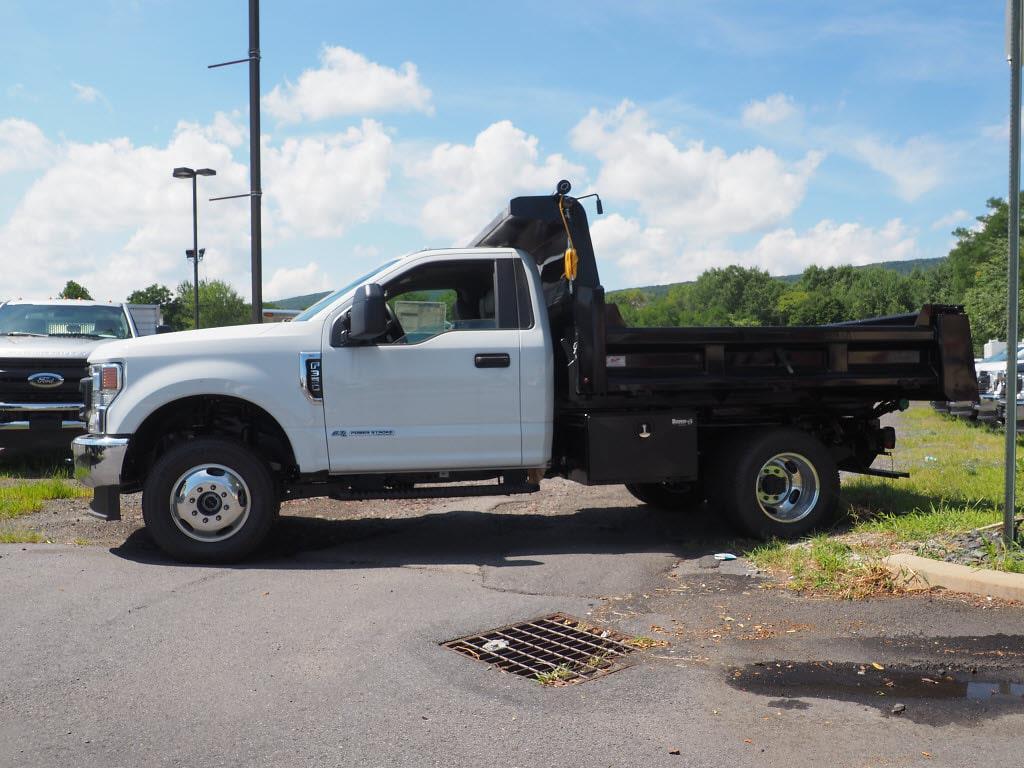 2020 Ford F-350 Regular Cab DRW 4x4, Rugby Eliminator LP Steel Dump Body #10691T - photo 7