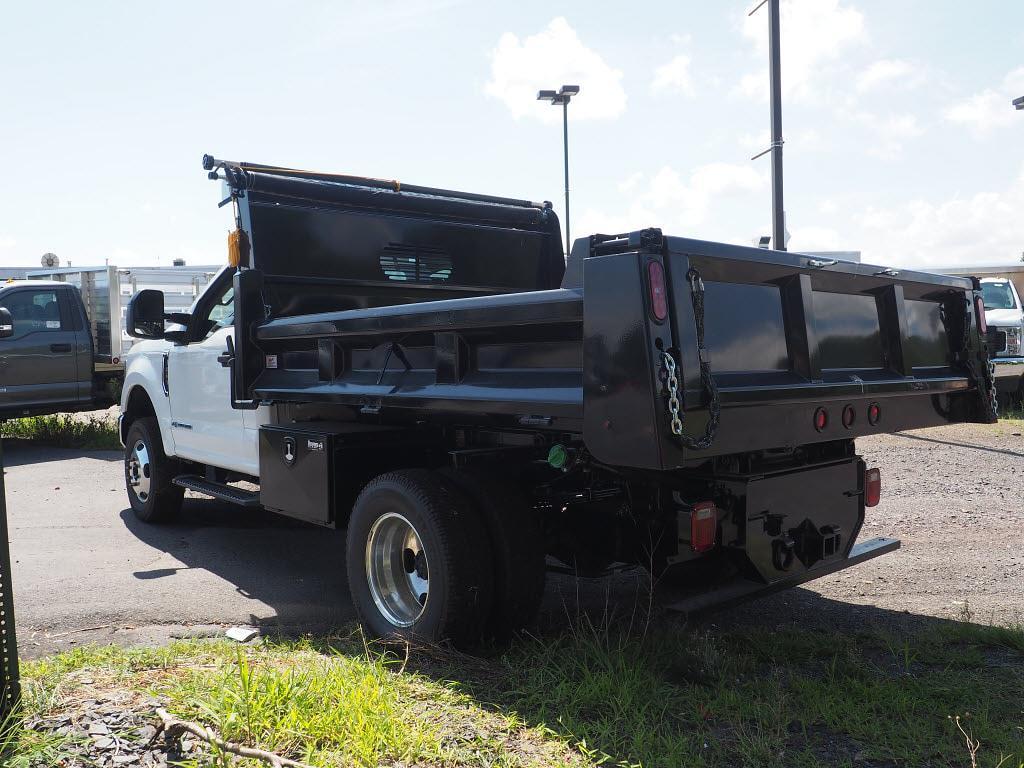2020 Ford F-350 Regular Cab DRW 4x4, Rugby Eliminator LP Steel Dump Body #10691T - photo 4