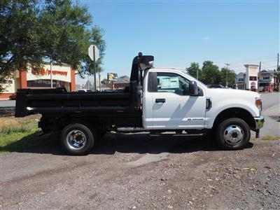 2020 Ford F-350 Regular Cab DRW 4x4, Rugby Dump Body #10691T - photo 9