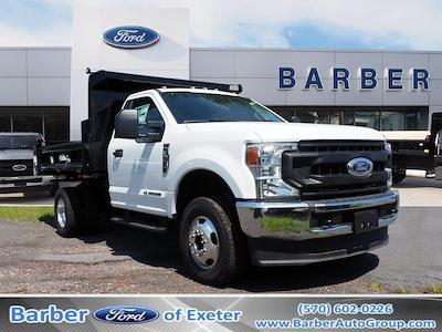 2020 Ford F-350 Regular Cab DRW 4x4, Rugby Dump Body #10691T - photo 1