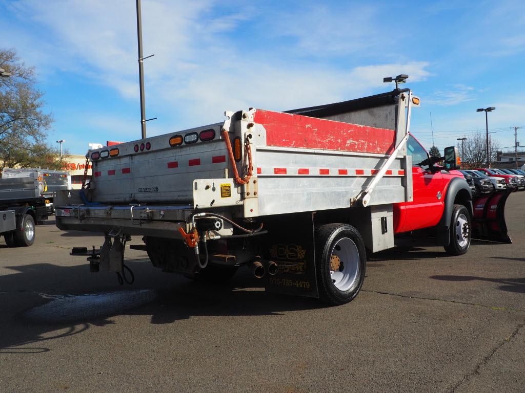 2016 Ford F-550 Regular Cab DRW 4x4, Dump Body #10719C - photo 1