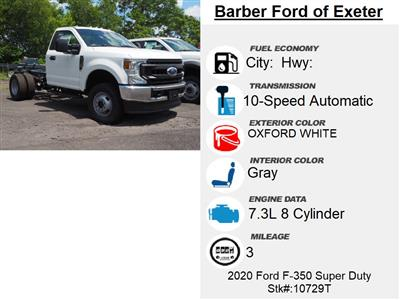 2020 Ford F-350 Regular Cab DRW 4x4, Cab Chassis #10729T - photo 6
