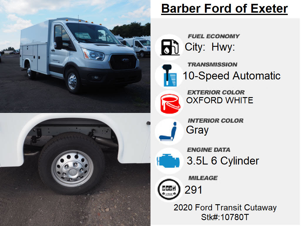 2020 Ford Transit 350 AWD, Knapheide KUV Service Utility Van #10780T - photo 6