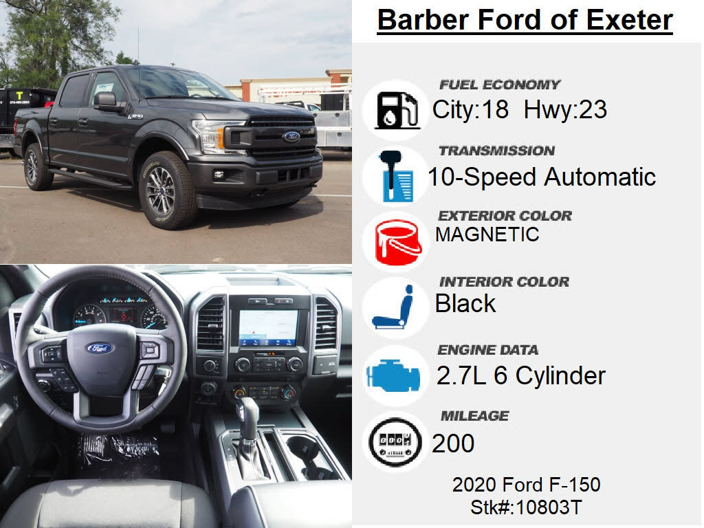 2020 Ford F-150 SuperCrew Cab 4x4, Pickup #10803T - photo 4