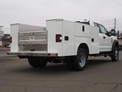 2020 Ford F-550 Super Cab DRW 4x4, M H EBY Service Body #10829T - photo 2