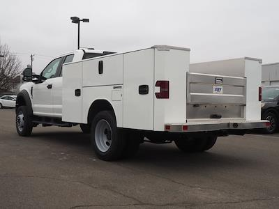 2020 Ford F-550 Super Cab DRW 4x4, M H EBY Service Body #10829T - photo 4