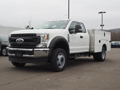 2020 Ford F-550 Super Cab DRW 4x4, M H EBY Service Body #10829T - photo 3