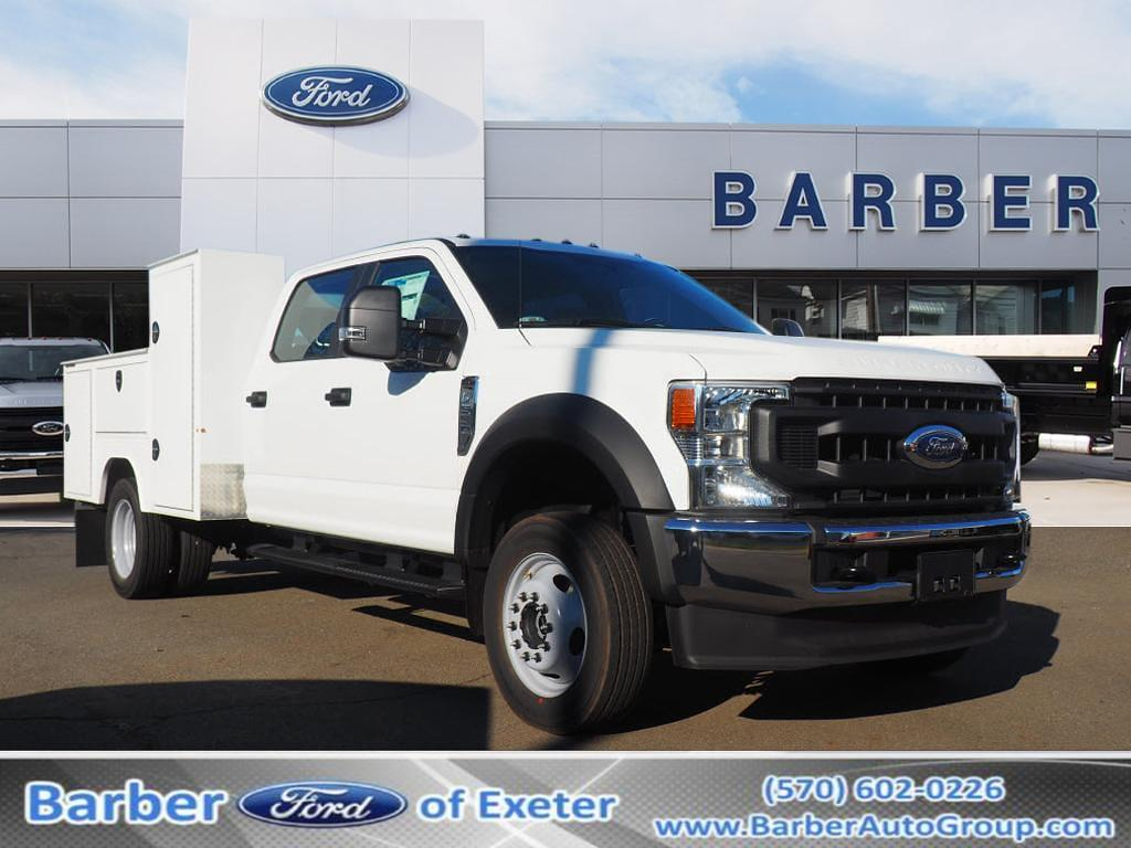 2020 Ford F-550 Crew Cab DRW 4x4, Duramag S Series Service Body #10832T - photo 1