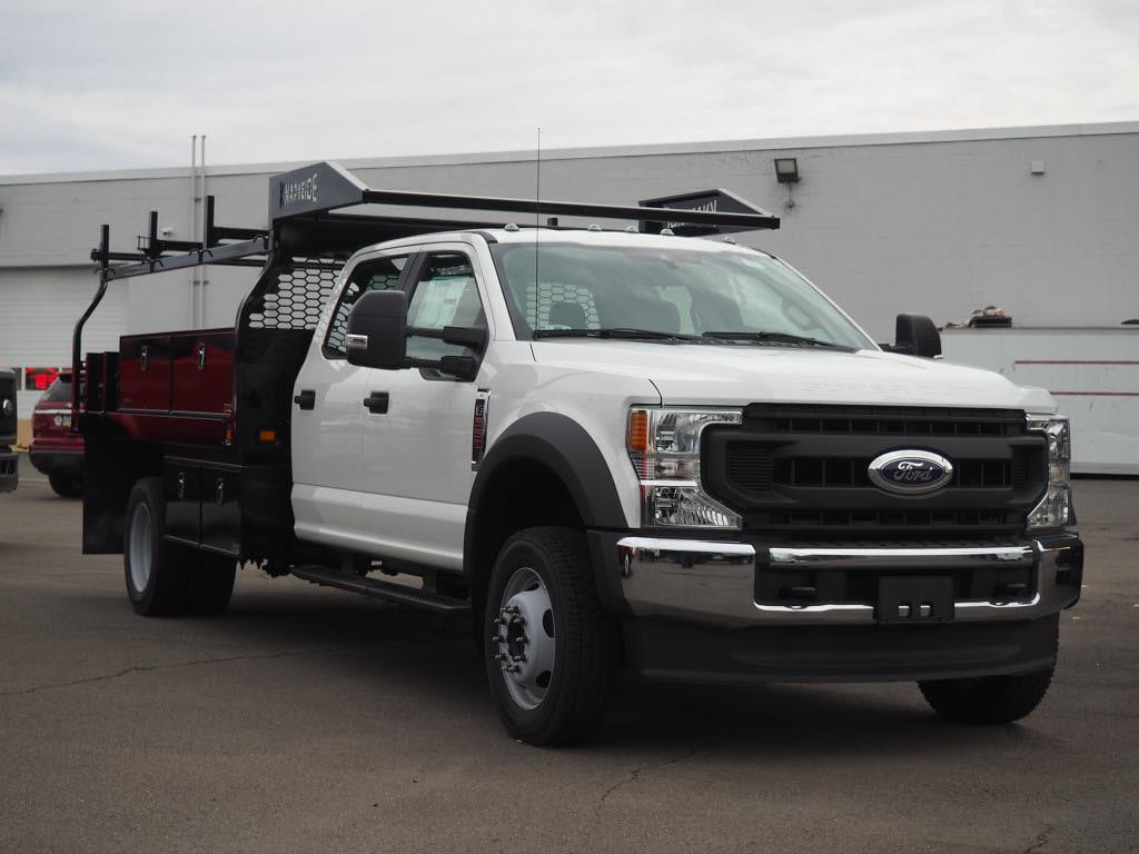 2020 Ford F-550 Crew Cab DRW 4x4, Knapheide Contractor Body #10847T - photo 1