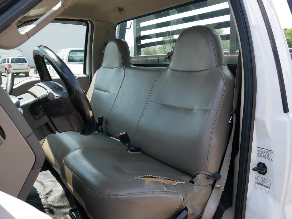 2008 Ford F-550 Regular Cab DRW 4x4, Platform Body #10849C - photo 12