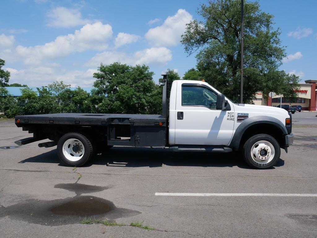 2008 Ford F-550 Regular Cab DRW 4x4, Platform Body #10849C - photo 5