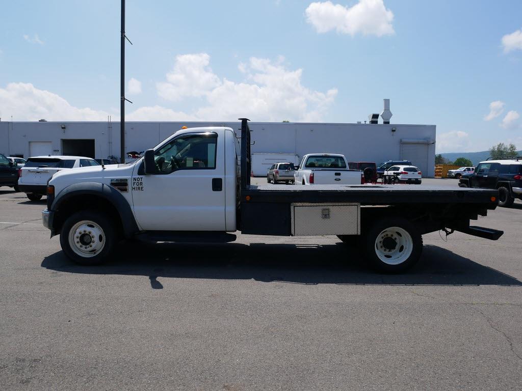 2008 Ford F-550 Regular Cab DRW 4x4, Platform Body #10849C - photo 8