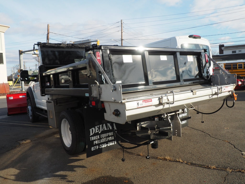 2020 Ford F-550 Regular Cab DRW 4x4, Rugby Eliminator LP Steel Dump Body #10869T - photo 6