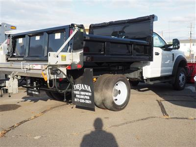 2020 Ford F-550 Regular Cab DRW 4x4, Rugby Eliminator LP Steel Dump Body #10869T - photo 4