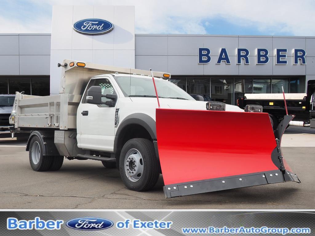 2020 Ford F-600 Regular Cab DRW 4x4, Western Dump Body #10901T - photo 1