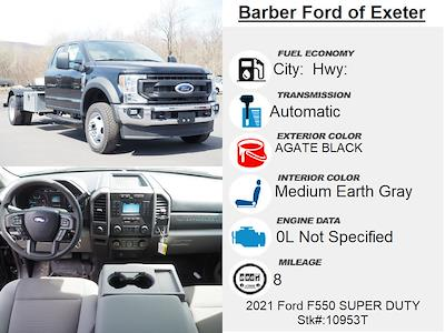 2021 Ford F-550 Super Cab DRW 4x4, Hooklift Body #10953T - photo 4