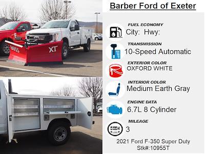 2021 Ford F-350 Regular Cab 4x4, Duramag S Series Service Body #10955T - photo 4