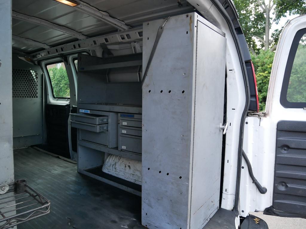 2010 Chevrolet Express 3500 4x2, Upfitted Cargo Van #10958B - photo 13