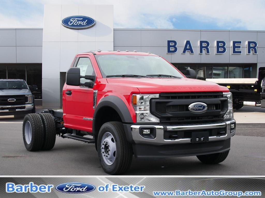 2021 Ford F-600 Regular Cab DRW 4x4, Cab Chassis #10966T - photo 1