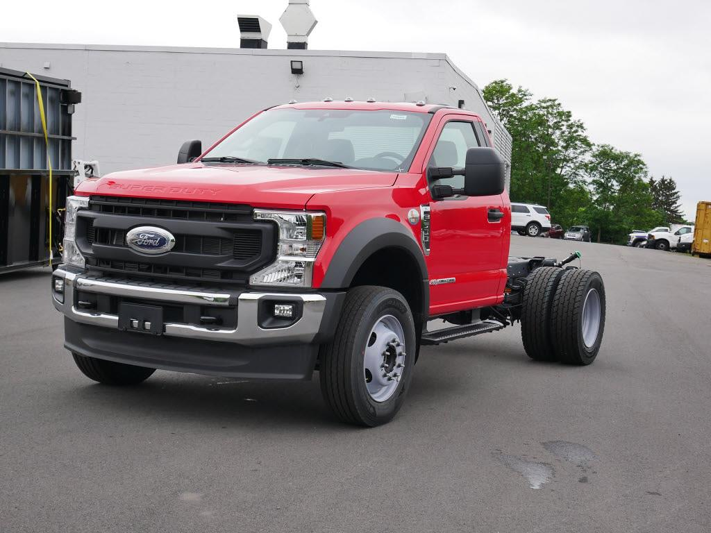 2021 Ford F-600 Regular Cab DRW 4x4, Cab Chassis #10966T - photo 6