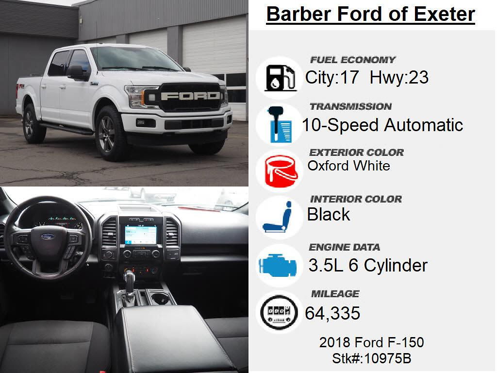 2018 Ford F-150 SuperCrew Cab 4x4, Pickup #10975B - photo 6