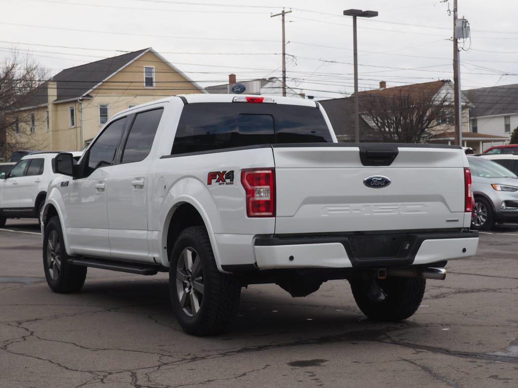 2018 Ford F-150 SuperCrew Cab 4x4, Pickup #10975B - photo 4