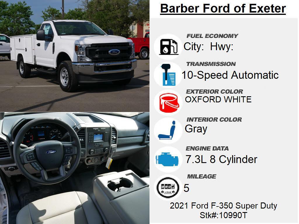 2021 Ford F-350 Regular Cab 4x4, Duramag S Series Service Body #10990T - photo 4