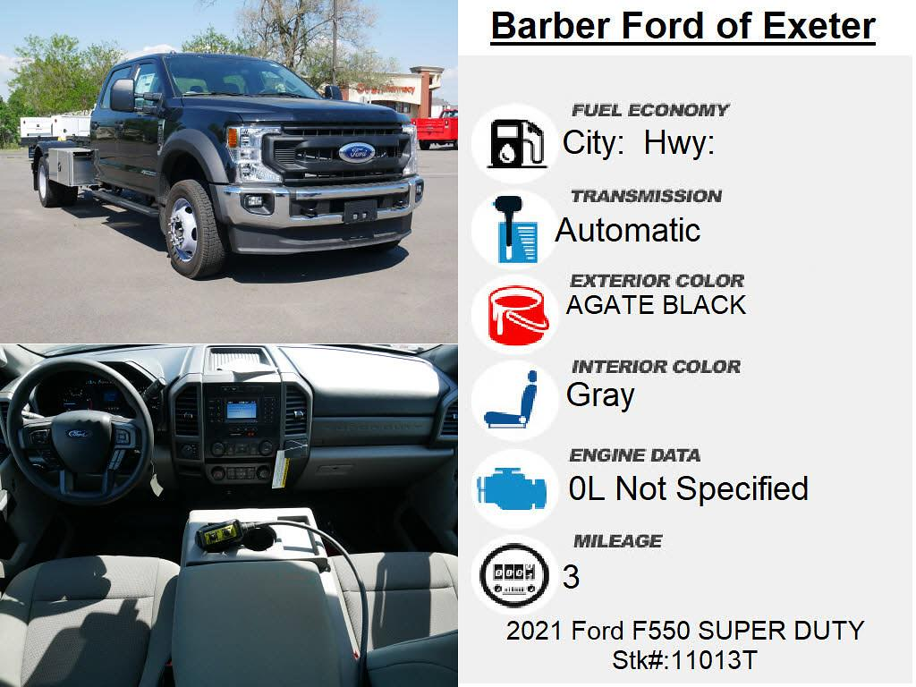 2021 Ford F-550 Crew Cab DRW 4x4, Switch N Go system 11' Original Electric model system 15k ind, winch #11013T - photo 4