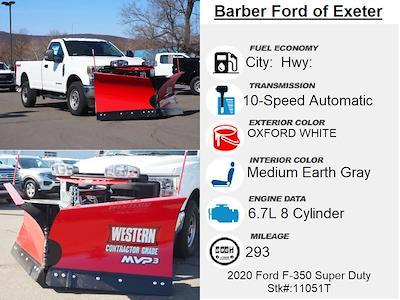 2020 Ford F-350 Regular Cab 4x4, Western Snowplow Pickup #11051T - photo 4