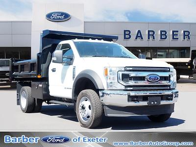 2021 Ford F-550 Regular Cab DRW 4x4, Rugby Eliminator LP Steel Dump Body #11067T - photo 1