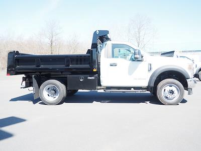 2021 Ford F-550 Regular Cab DRW 4x4, Rugby Eliminator LP Steel Dump Body #11067T - photo 3