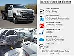 2021 Ford F-350 Regular Cab DRW 4x4, Rugby Eliminator LP Steel Dump Body #11090T - photo 5