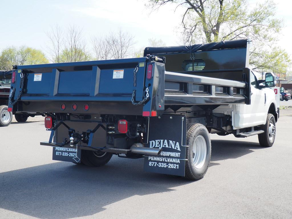 2021 Ford F-350 Regular Cab DRW 4x4, Rugby Eliminator LP Steel Dump Body #11093T - photo 6