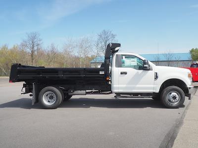 2021 Ford F-350 Regular Cab DRW 4x4, Rugby Eliminator LP Steel Dump Body #11093T - photo 4