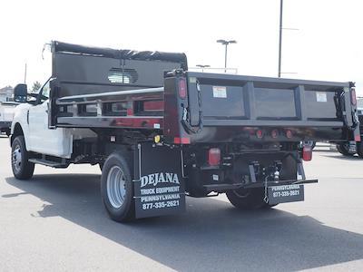2021 Ford F-350 Regular Cab DRW 4x4, Rugby Eliminator LP Steel Dump Body #11093T - photo 2