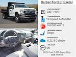 2021 Ford F-350 Regular Cab DRW 4x4, Rugby Eliminator LP Steel Dump Body #11093T - photo 5