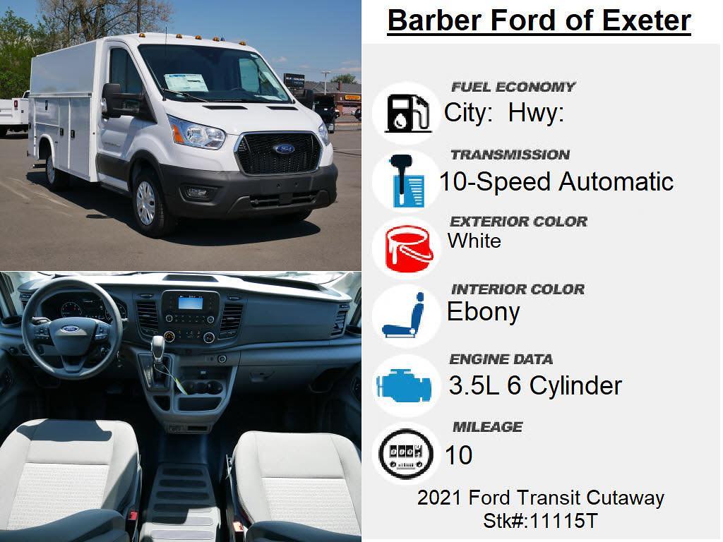 2021 Ford Transit 350 4x2, Knapheide KUV Service Utility Van #11115T - photo 4
