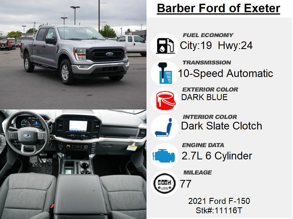 2021 Ford F-150 SuperCrew Cab 4x4, Pickup #11116T - photo 4