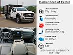 2021 Ford F-550 Super Cab DRW 4x4, Cab Chassis #11132T - photo 4