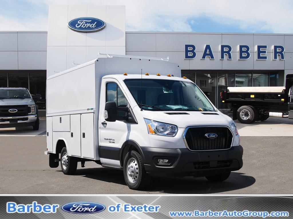 2021 Ford Transit 350 Low Roof AWD, Reading Service Utility Van #11158T - photo 1