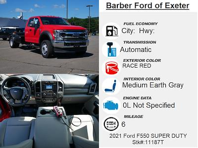 2021 F-550 Super Cab DRW 4x4,  Switch N Go Drop Box Hooklift Body #11187T - photo 5