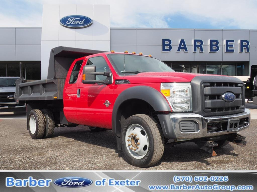 2013 F-550 Super Cab DRW 4x4, Dump Body #P4809B - photo 1