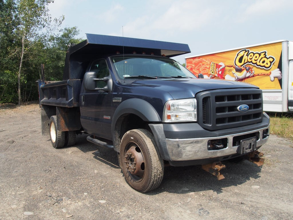 2007 F-450 Regular Cab DRW 4x4,  Dump Body #9279A - photo 3