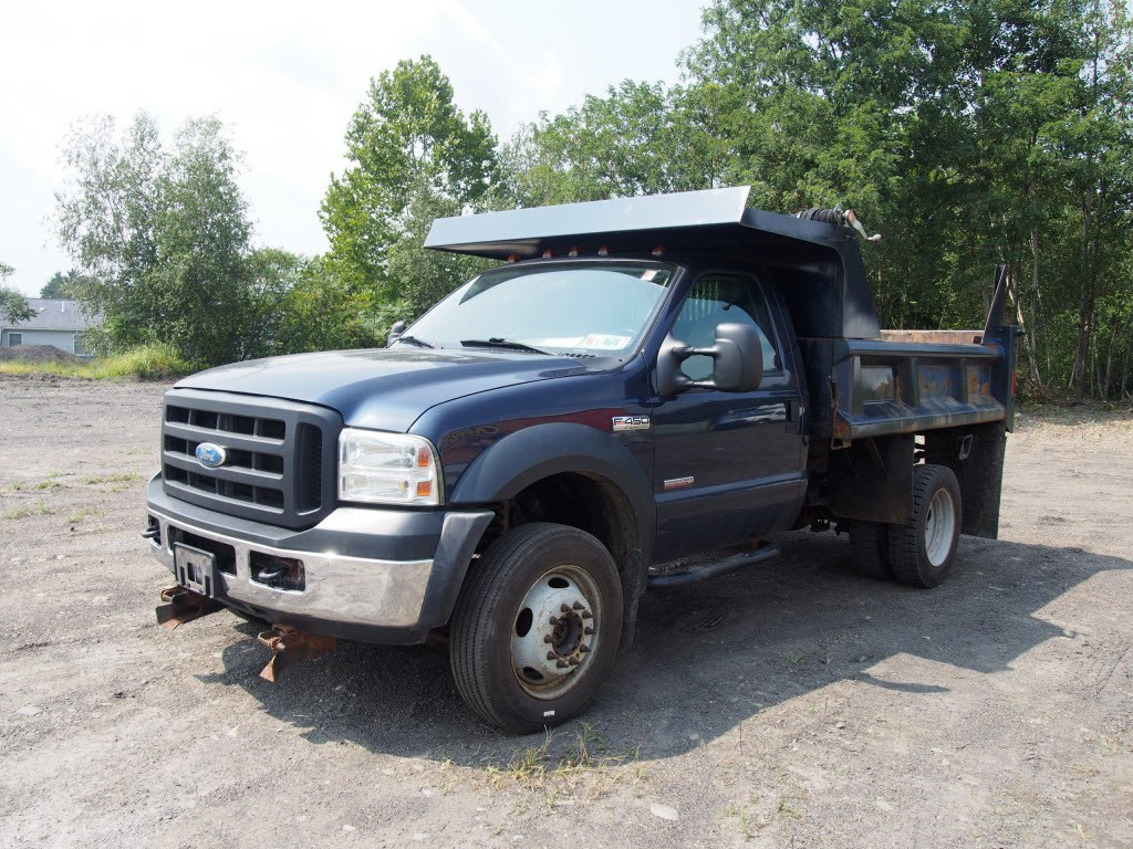 2007 F-450 Regular Cab DRW 4x4,  Dump Body #9279A - photo 6