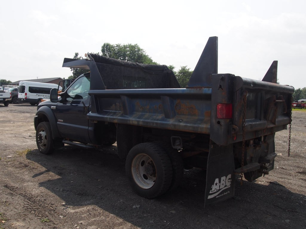 2007 F-450 Regular Cab DRW 4x4,  Dump Body #9279A - photo 8