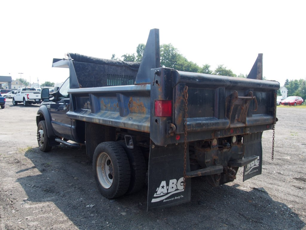 2007 F-450 Regular Cab DRW 4x4,  Dump Body #9279A - photo 9