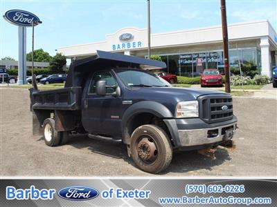 2007 F-450 Regular Cab DRW 4x4,  Dump Body #9279A - photo 1