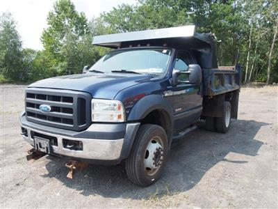 2007 F-450 Regular Cab DRW 4x4,  Dump Body #9279A - photo 5