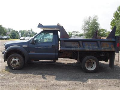 2007 F-450 Regular Cab DRW 4x4,  Dump Body #9279A - photo 7